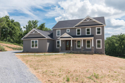custom home in hedgesville, wv